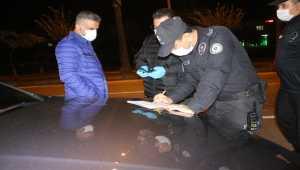 Adana'da sokağa çıkma kısıtlamasına uymayan yabancı uyruklu kişiye para cezası verildi
