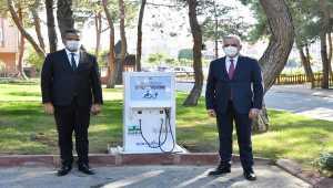 CK Enerji Akdeniz Elektrik'ten engelli vatandaşlar için 2 şarj istasyonu