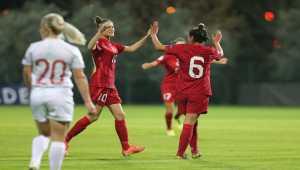 Türkiye 1 - 2 Rusya 2022 Avrupa Şampiyonası