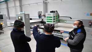 Güney Afrika ve Rusya'da üretilen uçak ve kamyon parçaları, Türk CNC tezgahından geçiyor