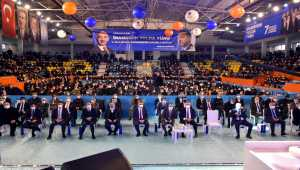 AK Parti'li Yazıcı ve Kandemir, Kırıkkale 7. Olağan İl Kongresi'nde konuştu: