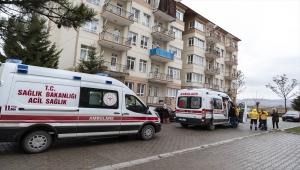 Ankara'da çıkan yangında bir ev kullanılamaz hale geldi