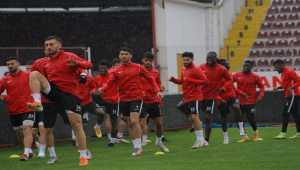 Atakaş Hatayspor, Denizlispor maçı hazırlıklarını tamamladı
