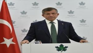 Gelecek Partisi Genel Başkanı Davutoğlu: