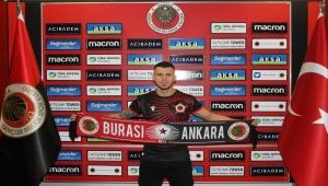 Gençlerbirliği, sol kanat oyuncusu Srdjan Spiridonovic'i kadrosuna kattı