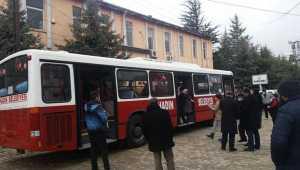 İstanbul Büyükşehir Belediyesinden Bahadın Belediyesine otobüs