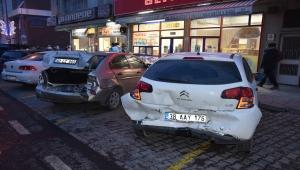 Kayseri'de zincirleme trafik kazası: 7 yaralı