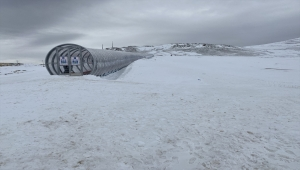 Ketençimen Kayak Merkezinin ilk etabının yüzde 95'i tamamlandı