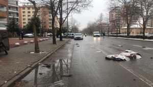 Konya'da motosikletli gazete dağıtıcısı, otomobilin çarpması sonucu yaşamını yitirdi
