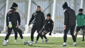 Konyaspor'da, Antalyaspor maçı hazırlıkları