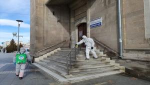 Melikgazi'de dezenfekte çalışmaları sürüyor
