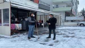 Pursaklar Belediye Başkanı Çetin'den esnafa ziyaret