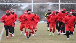 Sivasspor, Aytemiz Alanyaspor maçı hazırlıklarını sürdürdü