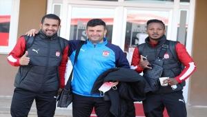 Sivasspor, Kasımpaşa maçı için İstanbul'da