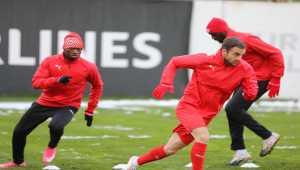 Sivasspor, Medipol Başakşehir maçının hazırlıklarını tamamladı