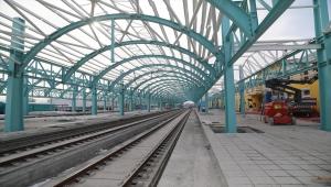 TCDD Genel Müdürü Uygun, Sivas'ta YHT istasyon merkezi inşaatını inceledi