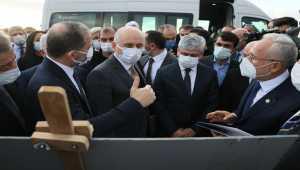 Bakan Karaismailoğlu Hatay'da incelemelerde bulundu