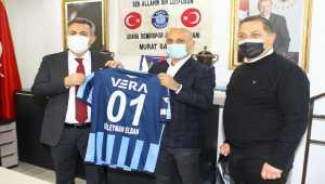 Vali Elban'dan Adana Demirspor Kulübüne ziyaret: