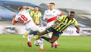 Fenerbahçe, sahasında berabere kaldı