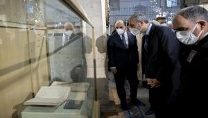 Adalet Bakanı Abdulhamit Gül, Mevlana Müzesi'ni ziyaret etti