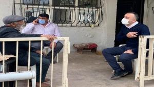 AK Parti Muratpaşa İlçe Başkanı Ülker, Kızılay'ın mobil aşevine konuk oldu