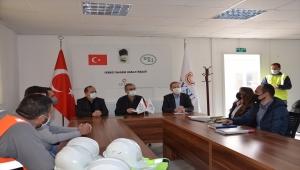 DSİ Genel Müdürü Yıldız, Yozgat'taki İnandık Barajı inşaatını inceledi: