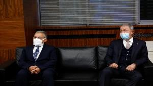 Milli Savunma Bakanı Akar ile Sanayi ve Teknoloji Bakanı Varank, Kayseri'de ziyaretlerde bulundu