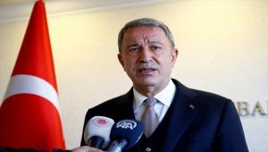 Milli Savunma Bakanı Hulusi Akar'dan CHP Grup Başkanvekili Engin Altay'ın sözlerine tepki: