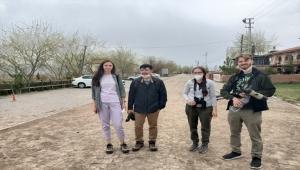 Sultan Sazlığı Milli Parkı Ukraynalı turistleri ağırladı