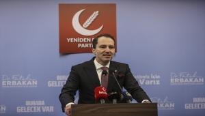 Yeniden Refah Partisi Genel Başkanı Erbakan, gündemi değerlendirdi: