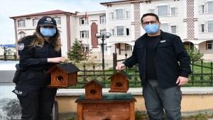Sivas'ta gönüllü polisler devletin şefkat elini