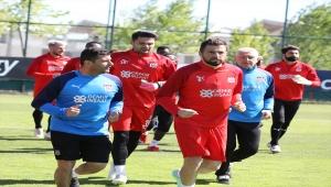 Sivasspor, Fenerbahçe maçının hazırlıklarını tamamladı