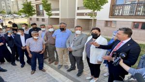 AK Parti Kırşehir Milletvekili Kendirli, TOKİ konutlarının hak sahipleriyle bir araya geldi