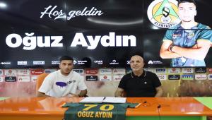 Alanyaspor, Oğuz Aydın ile 5 yıllık sözleşme imzaladı