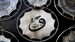 Eski tornacı, keçi derisi üzerine işlediği figürlerle Türk mitolojisini yaşatıyor