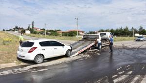 Kırıkkale'de dolmuş ile otomobil çarpıştı: 4 yaralı