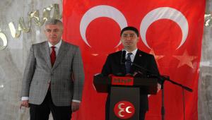 MHP Genel Başkan Yardımcısı Özdemir, Kayseri İl İstişare Kurulu Toplantısı'nda konuştu: