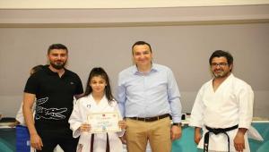 Talas'ta karate kursiyerleri terfi heyecanı yaşadı