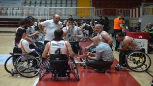 Tekerlekli Sandalye Basketbol Süper Ligi play-off yarı finalistleri belli oldu