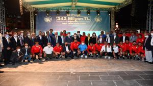 AK Parti Genel Başkan Yardımcısı Özhaseki, Sivas'ta 13 projenin temel atma törenine katıldı: