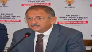 AK Parti Genel Başkan Yardımcısı Özhaseki Sivas'ta konuştu: