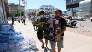 Antalya'daki yangın mağdurları için 19 ilçe halkı seferber oldu
