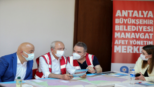 CHP Genel Başkanı Kılıçdaroğlu, Antalya Kriz Merkezi'nde konuştu: