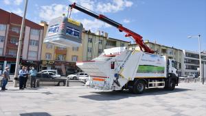Karapınar'da belediye araç filosu genişliyor