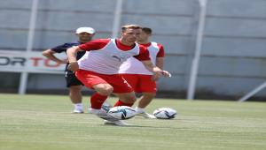 Sivasspor, Petrocub maçının hazırlıklarını sürdürdü