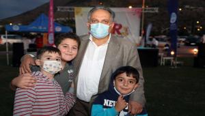 Talas'ta çocuklar için oyun şenliği düzenlendi