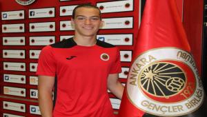 Gençlerbirliği, genç kaleci Onur Alp Sarman ile profesyonel sözleşme imzaladı