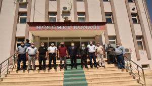 Karaman Valisi Işık, Kazımkarabekir ilçesini ziyaret etti