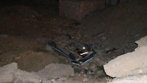 Niğde'de iki otomobil çarpıştı: 3 yaralı