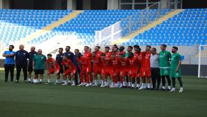 Sivasspor, Dinamo Batum maçı hazırlıklarını tamamladı
